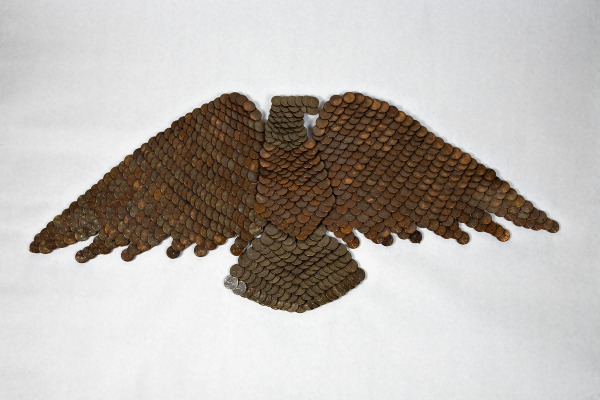 Unclaimed Creation #1, Coin Eagle - intuitive eye