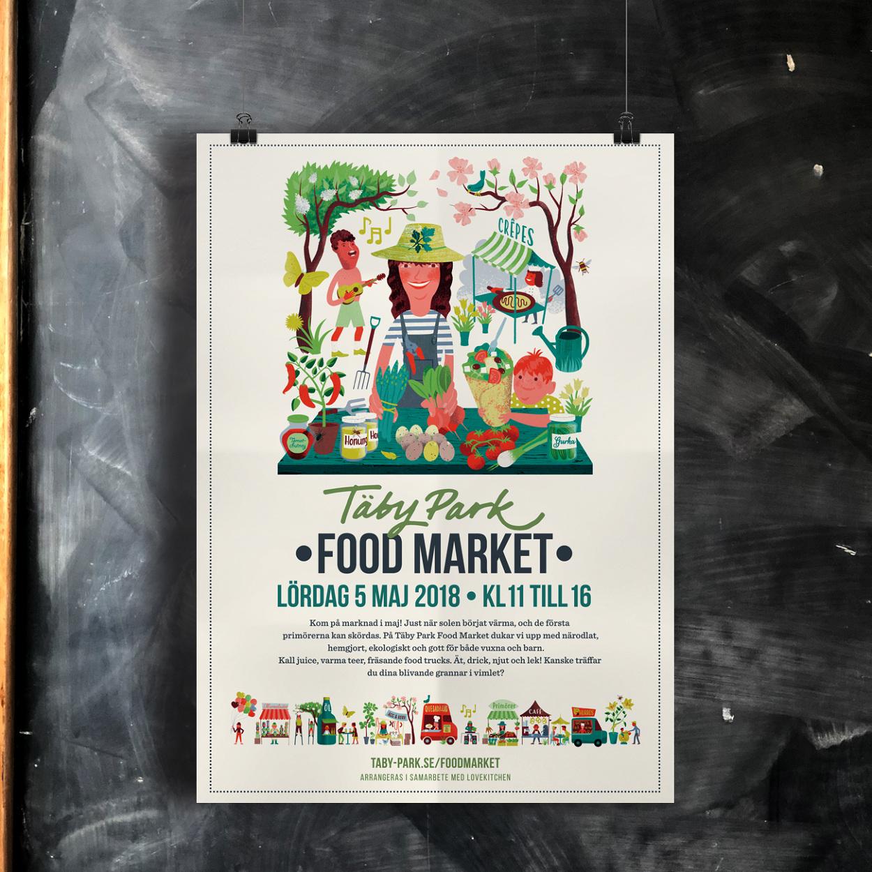 Taby Park Food Market 2018 Oscarliedgren