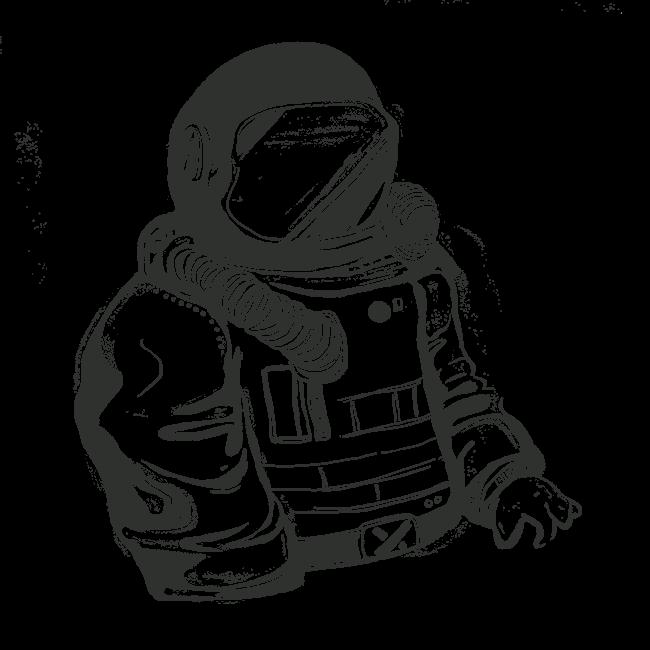 break dancing astronaut drawing - 650×650
