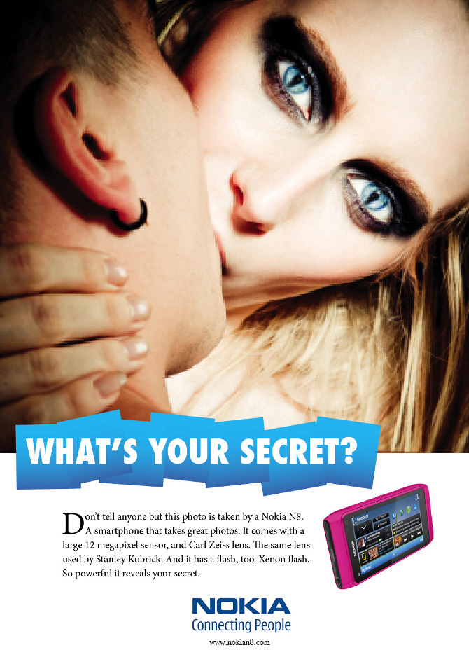 The secret of Nokia N8 - ling's book