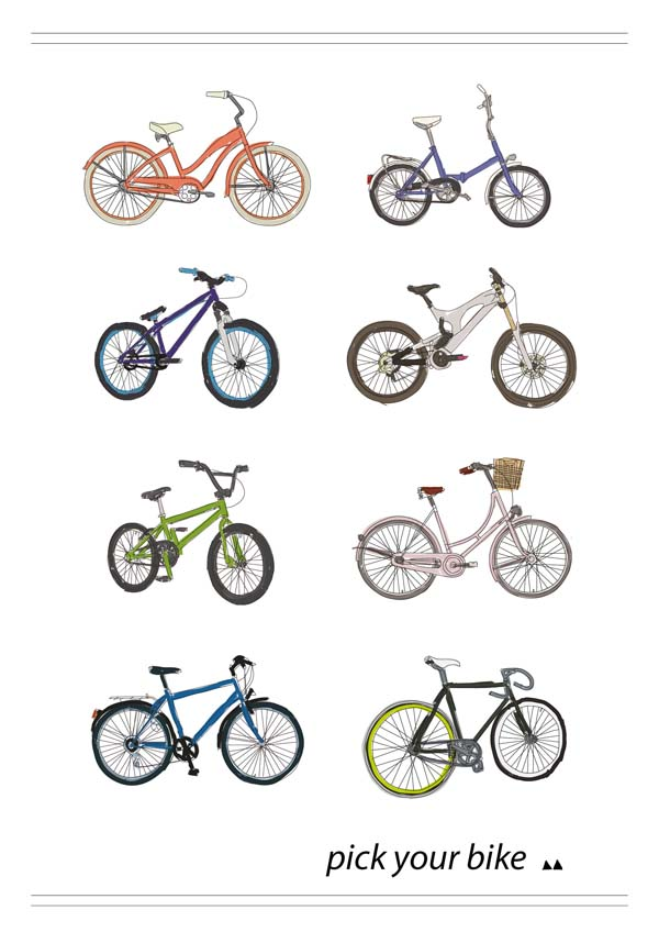Bike Types pick your bike and ride