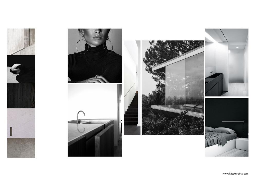Mood Board - Kate Turbina. Personal Portfolio