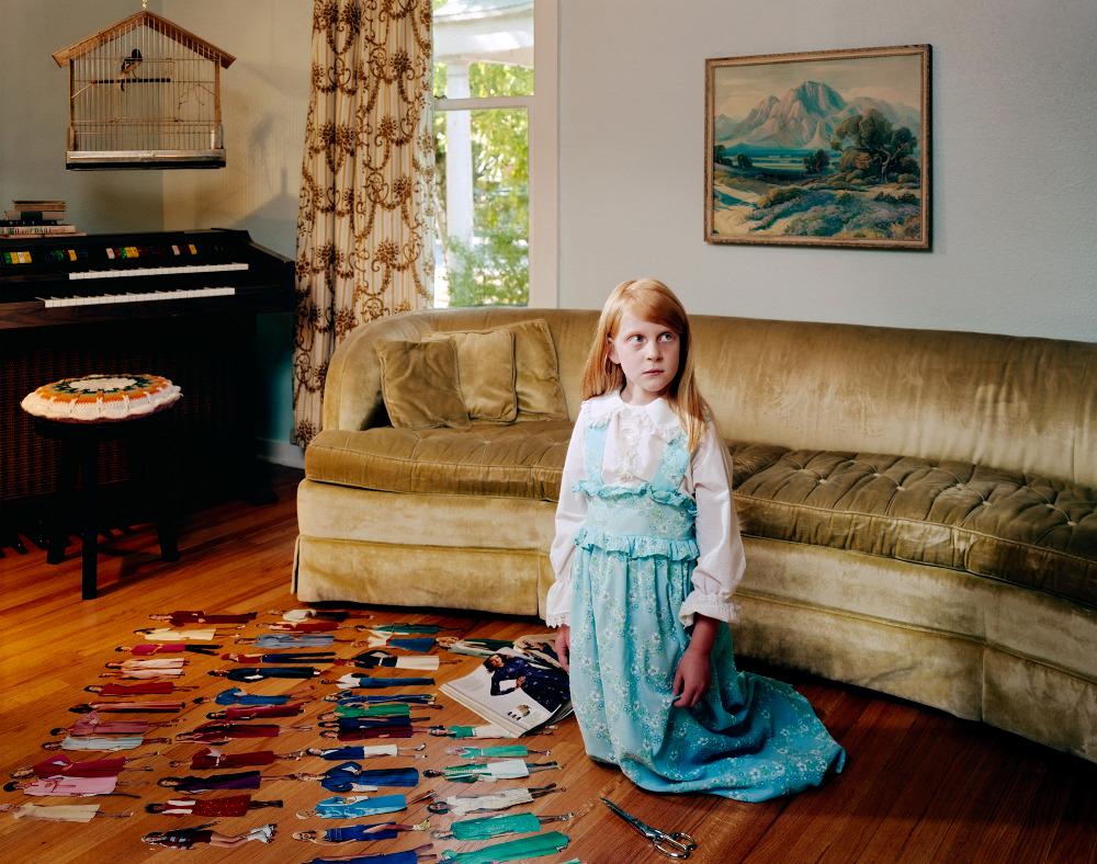 Волшебный мир детства в работах Холли Андерс