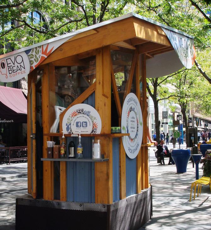 Evobean Coffee Kiosk Daveaton