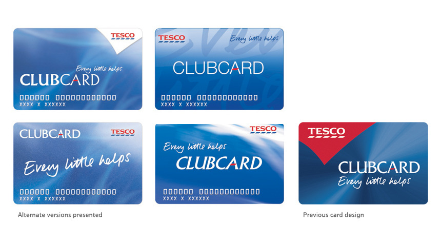 Tesco Clubcard Redesign Peter Aston