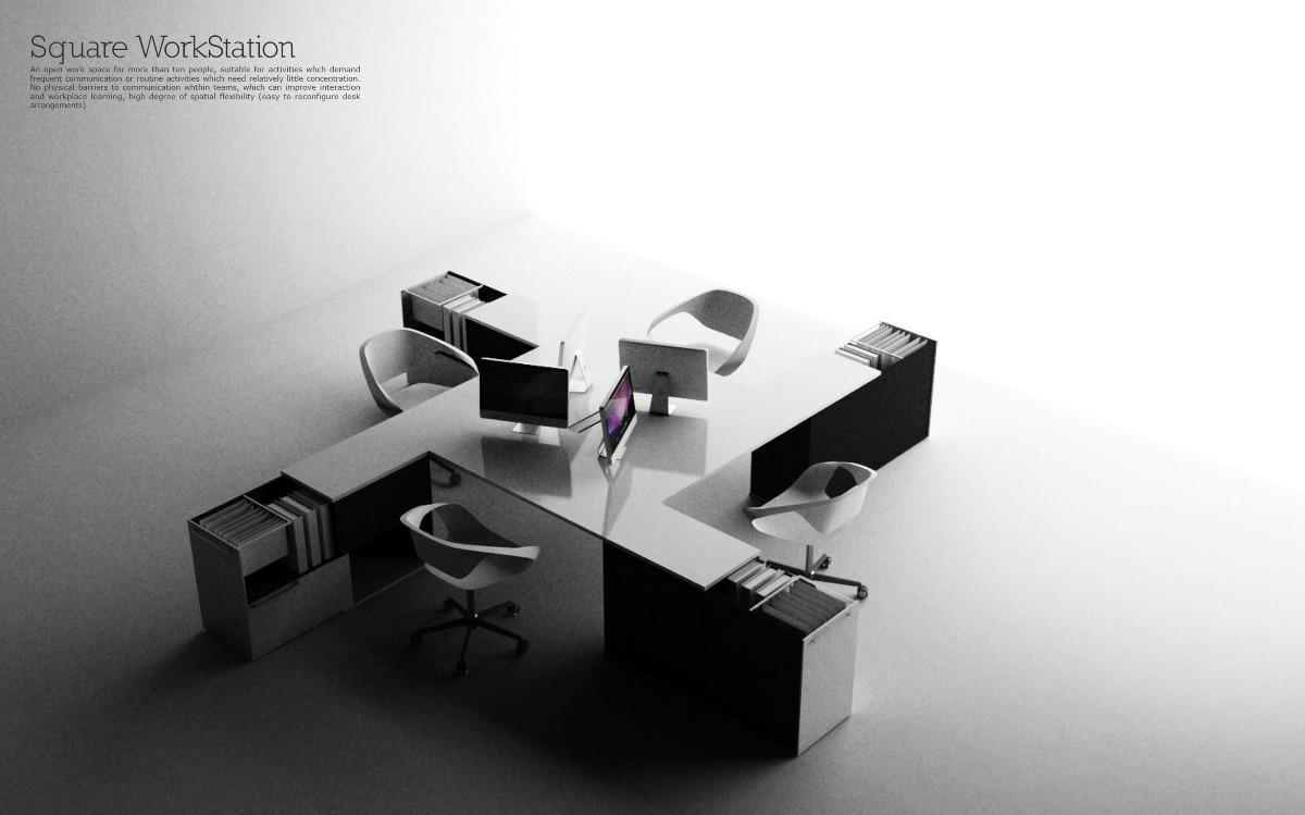 Office system albert lu design for Office design concepts and needs