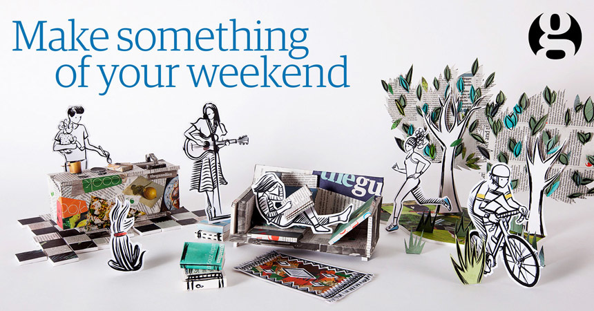 the guardian make something of your weekend www