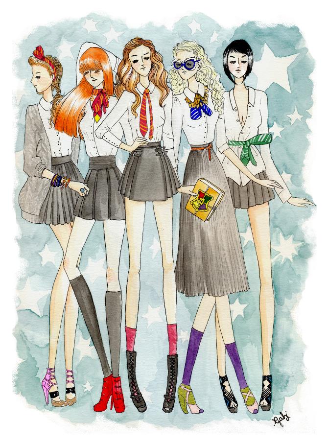 How To Fashion Illustration