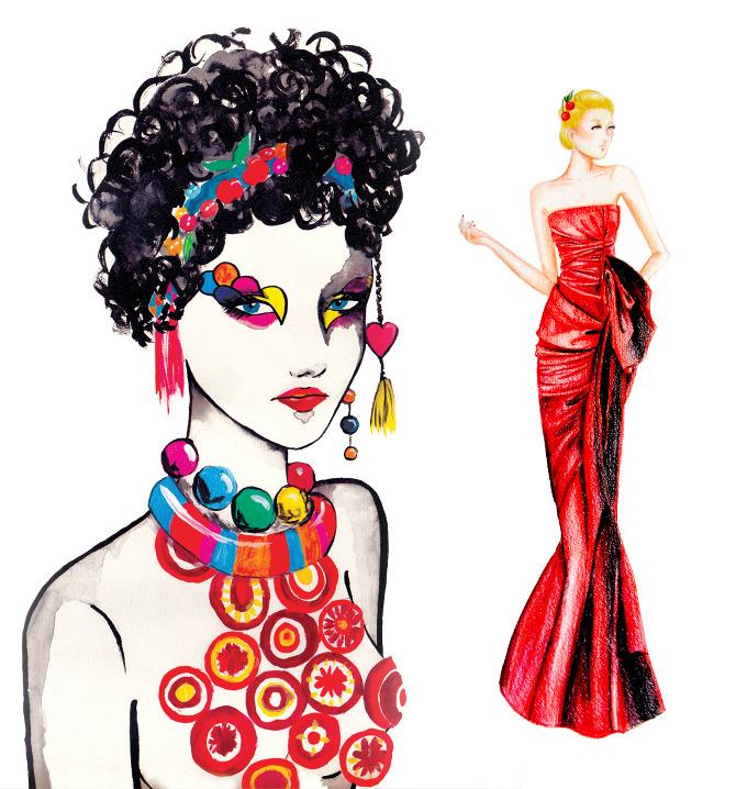 Fashion Design Illustration Portfolio