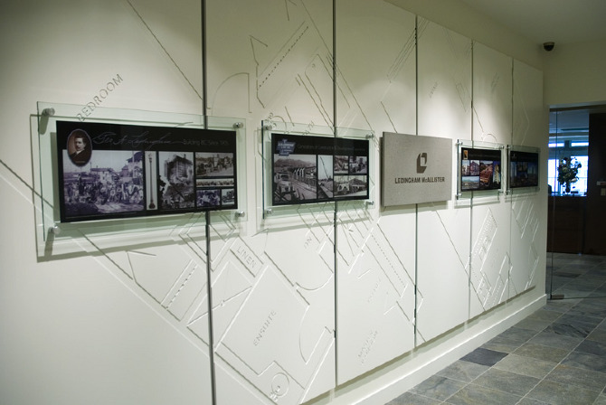 Ledmac History Wall Colin Campbell Design