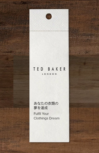 b57c9807e76c Special competition clothing tag is attached alongside the price tag.