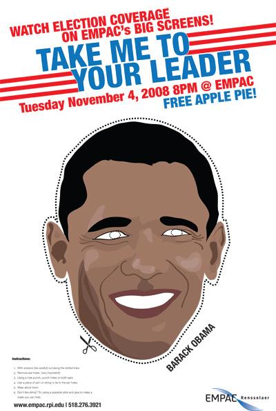 Graphic Design 2008 Us Election Poster The Portfolio Of Shela Xu