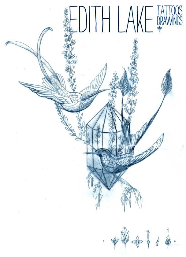 Drawings  Edith Lake