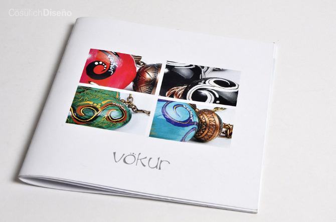 532f7393f8a2 Cliente  Vokur Bijouterie Proyecto  Diseño de catálogo y carpetas  institucionales (2011)