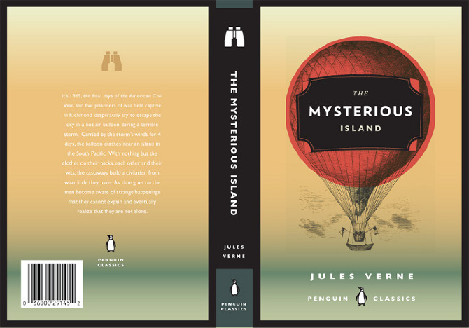 Modern Book Cover : Jules verne book covers allison tylek