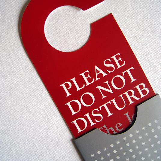 Please Do Not Disturb Joanna Choukeir