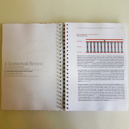 thesis statement braille