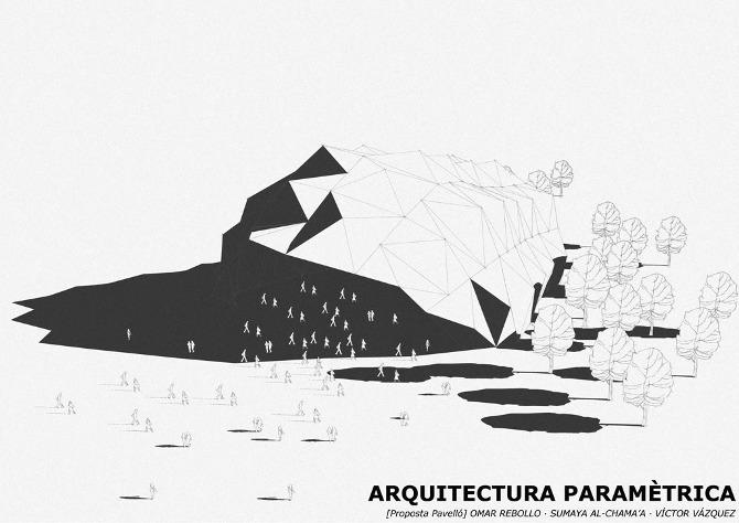 Pabell n arq param trica omar rebollo arquitectura for Arquitectura parametrica