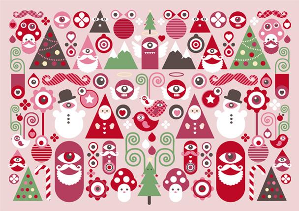 Christmas Gift Wrapper Design.Christmas Cards Kingakong Com