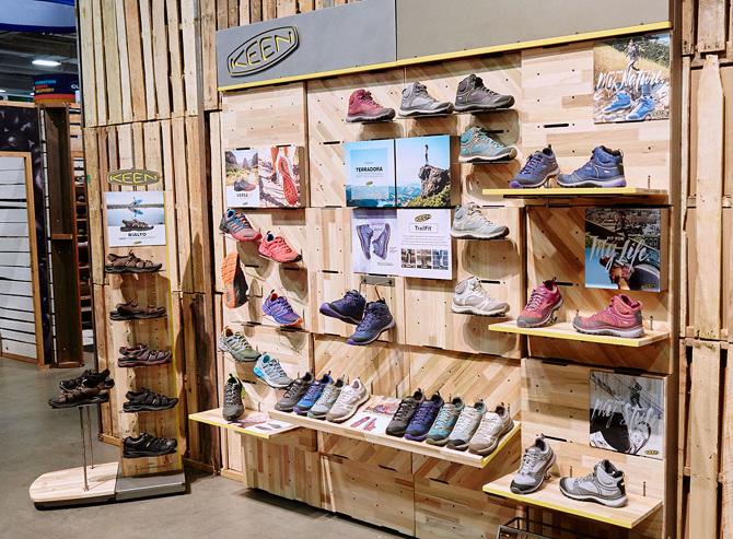 KEEN Tradeshow Displays - Portland Design + Art Direction