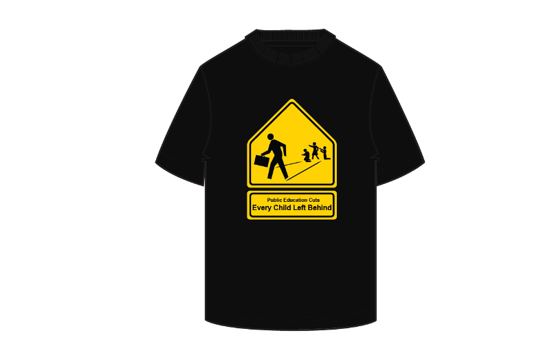 Every child t shirt industrial design outreach for Industrial design t shirt