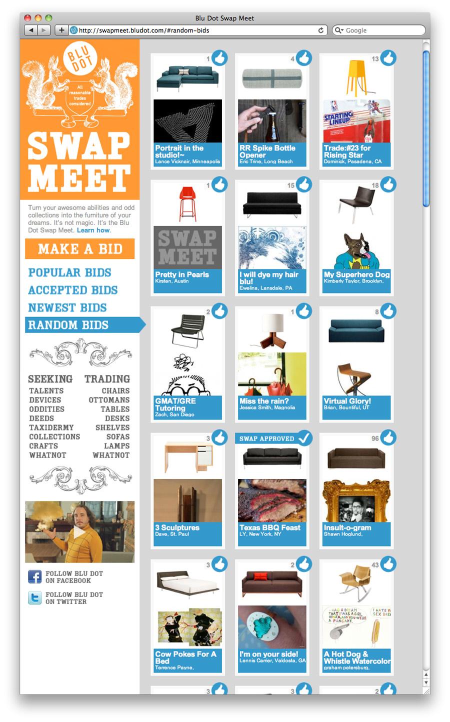 Blu Dot Swap Meet - Kelly Munson
