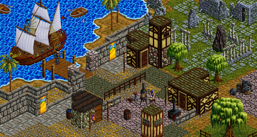 Everquest for the Pocket PC - Seaheff