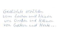 Gedichte Regina Schwarz