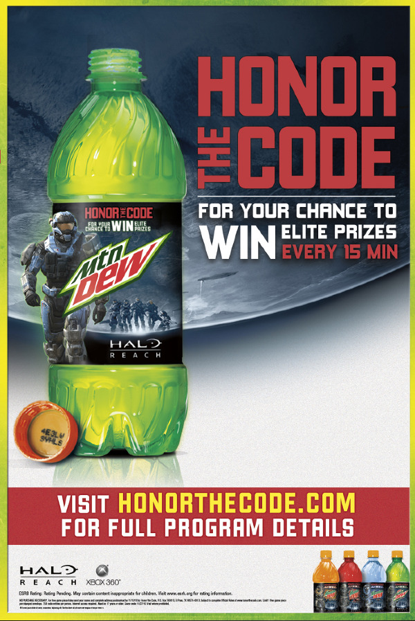 Mtn  Dew: HALO Honor The Code - The Portfolio of Andy Cummings