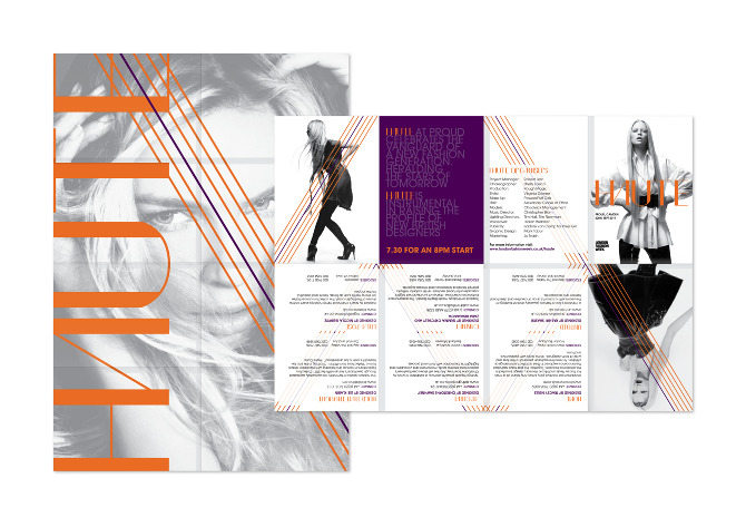 London Fashion Week Brochure