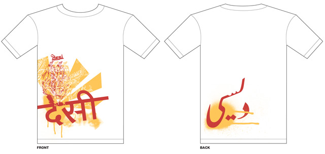 Mtv Desi Promotional T Shirts Swathi Ghanta Graphic