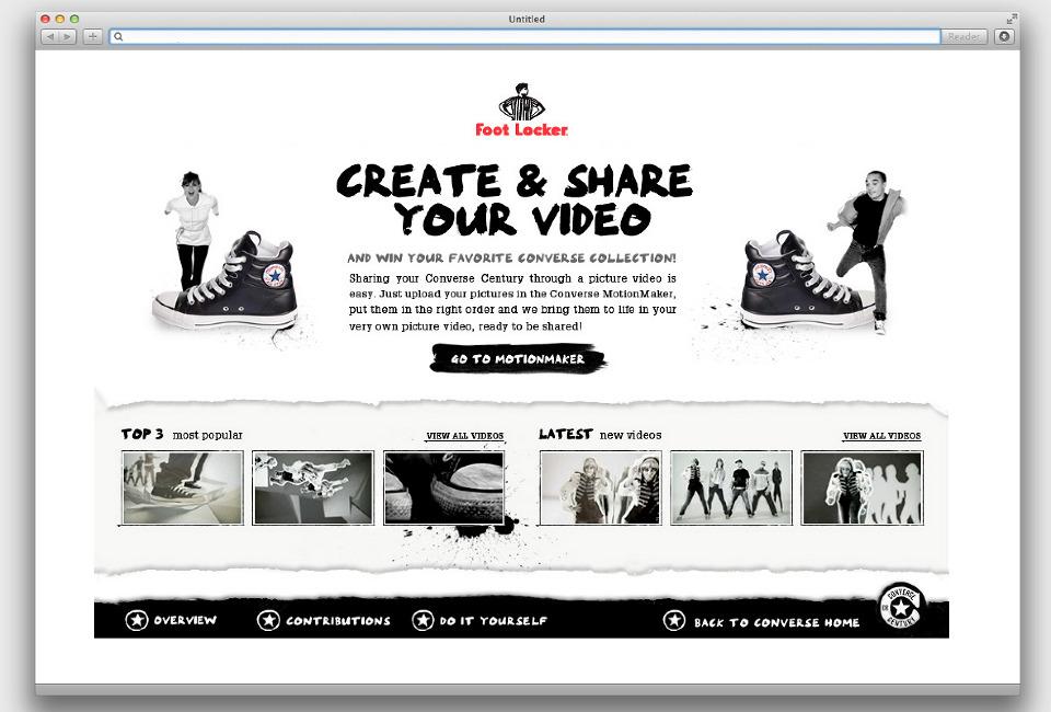 Converse Motion Maker - martijnszepesi com