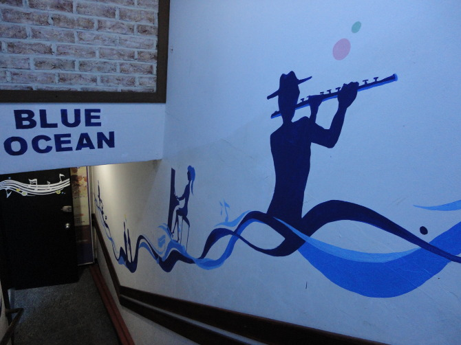 Music Cafe Wall Painting Yejin