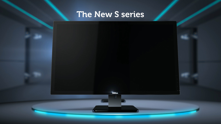 Dell Monitor (Robot version) - Sketch Design // Singapore, 3D