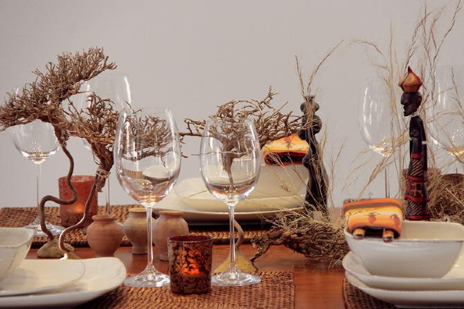 Savane africaine reinventez l 39 art de la table for Art de la table
