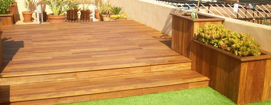 trabajos con madera paisajismo arteche jardinera y diseo de jardines en mallorca