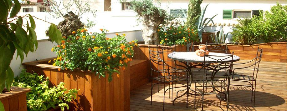 terrazas y jardineras paisajismo arteche jardinera y diseo de jardines en mallorca