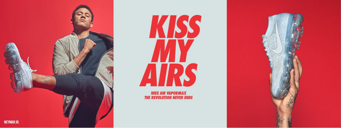 7523e7b85d01 Kiss my Airs campaign artwork - Photography by Gdragon.