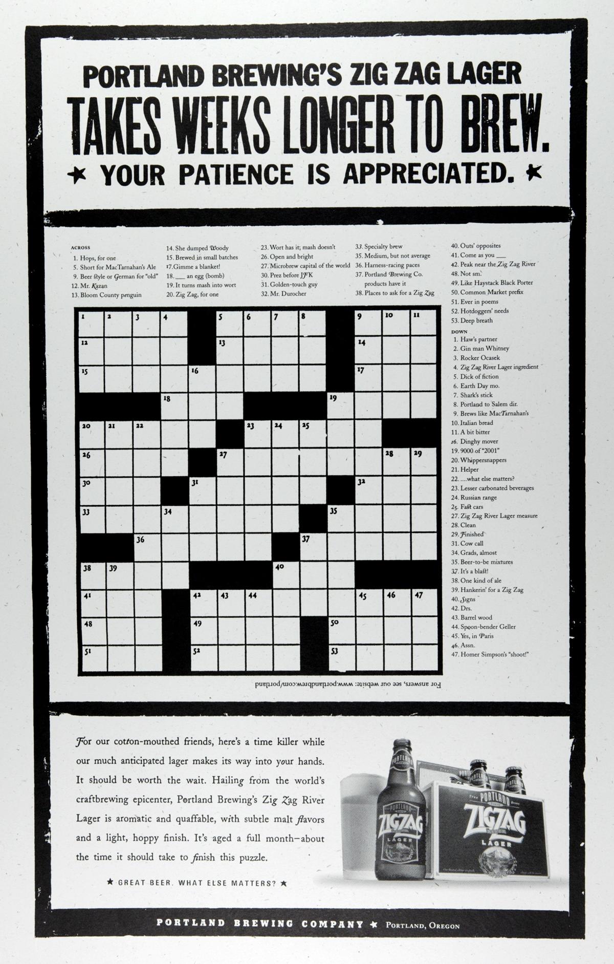 Olli Course Crosswords And You Course Description
