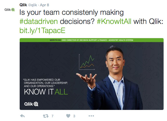 Qlik Social Campaign - TOM LUCENTE » WRITER AND CREATIVE DIRECTOR