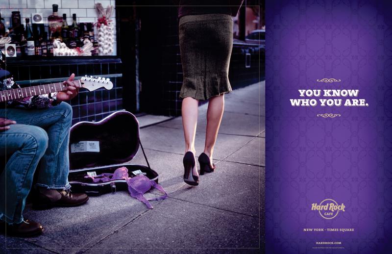 Hard Rock Cafe Ad