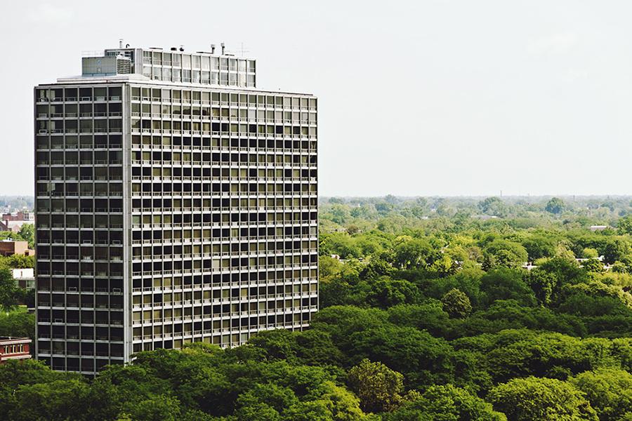 Lafayette Park Apartments Detroit