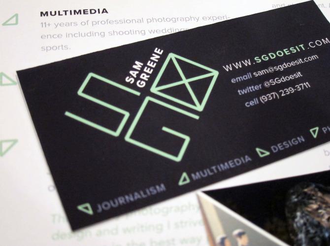 journalist branding jamie ritzer graphic designer