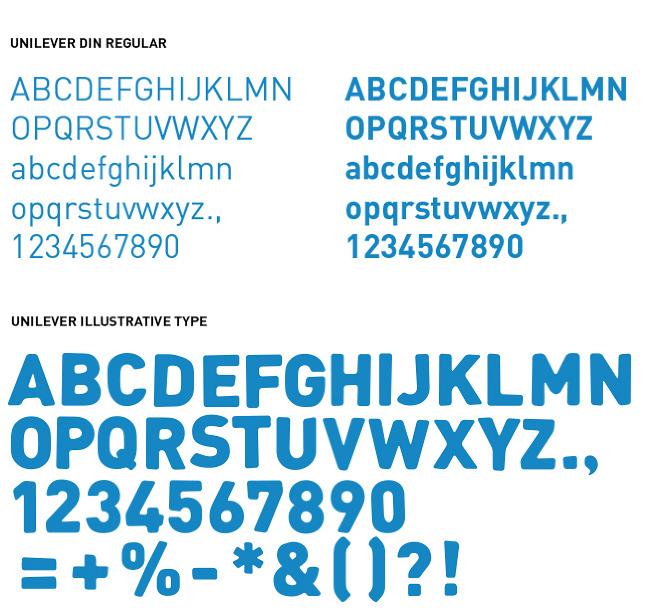 Unilever: 2012 A New Identity - Spencer Cathcart Art