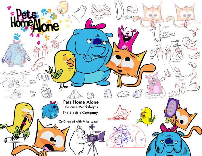 """Pets Home Alone"""