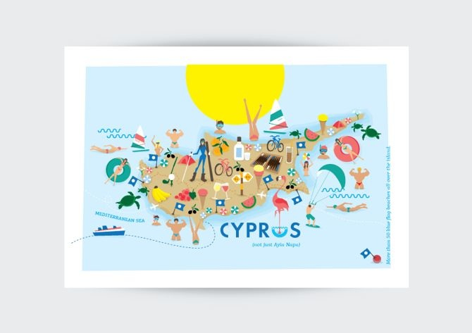 Made In Cyprus - The Postcards Collection - annakoumoushi