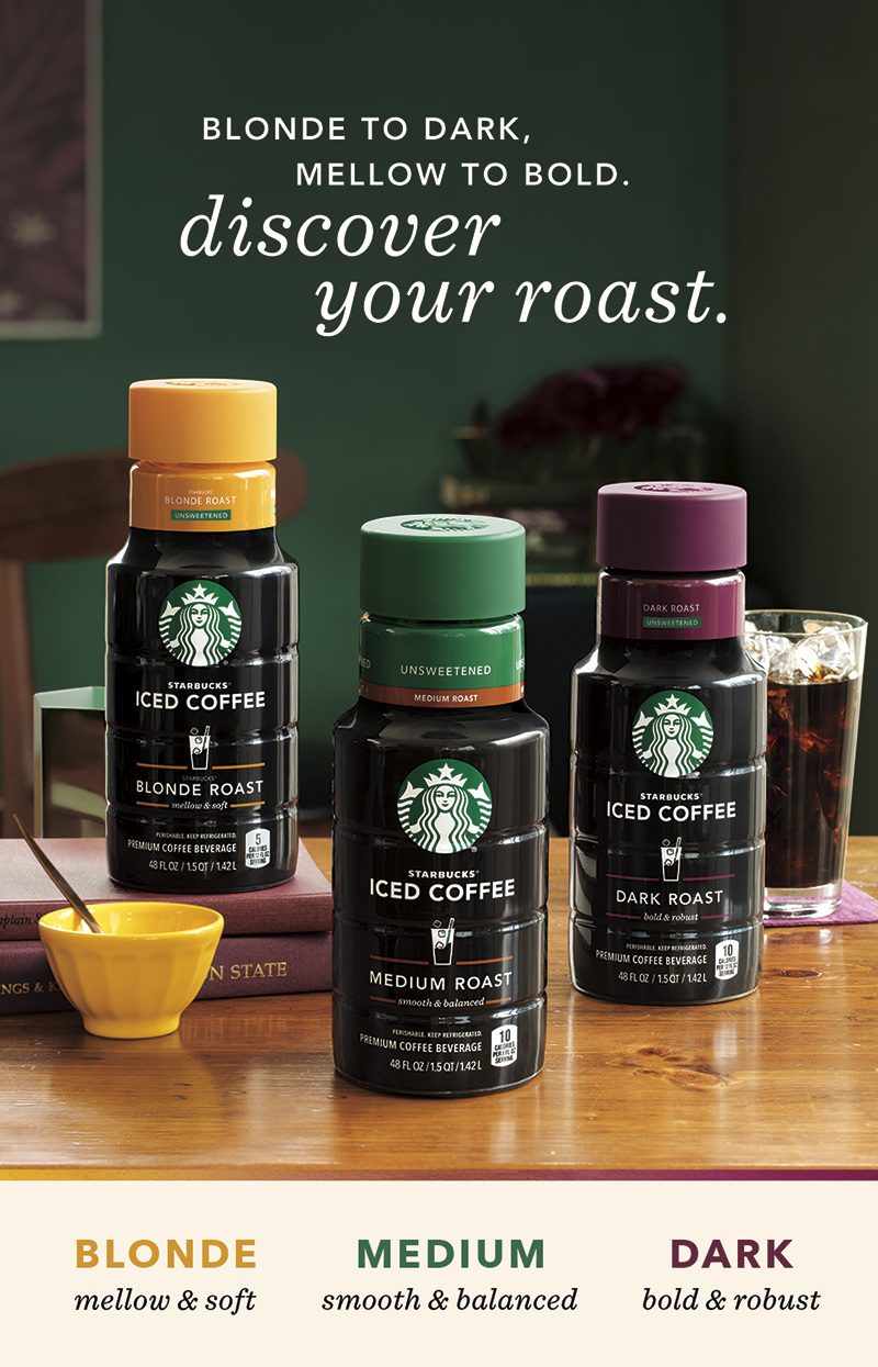 Starbucks Iced Coffee Roast Campaign Hollyjadeturner Com