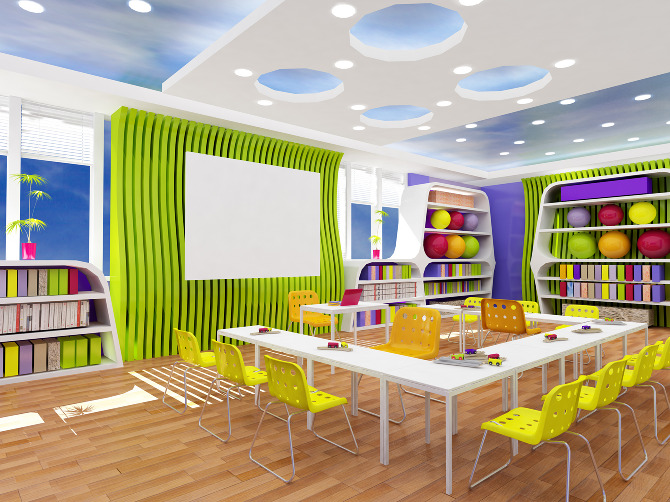 Classroom Design For Living And Learning With Autism : School project green hope autistic dewipurnama