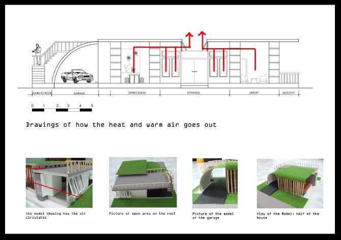 School Project House Model School Project Cyan House