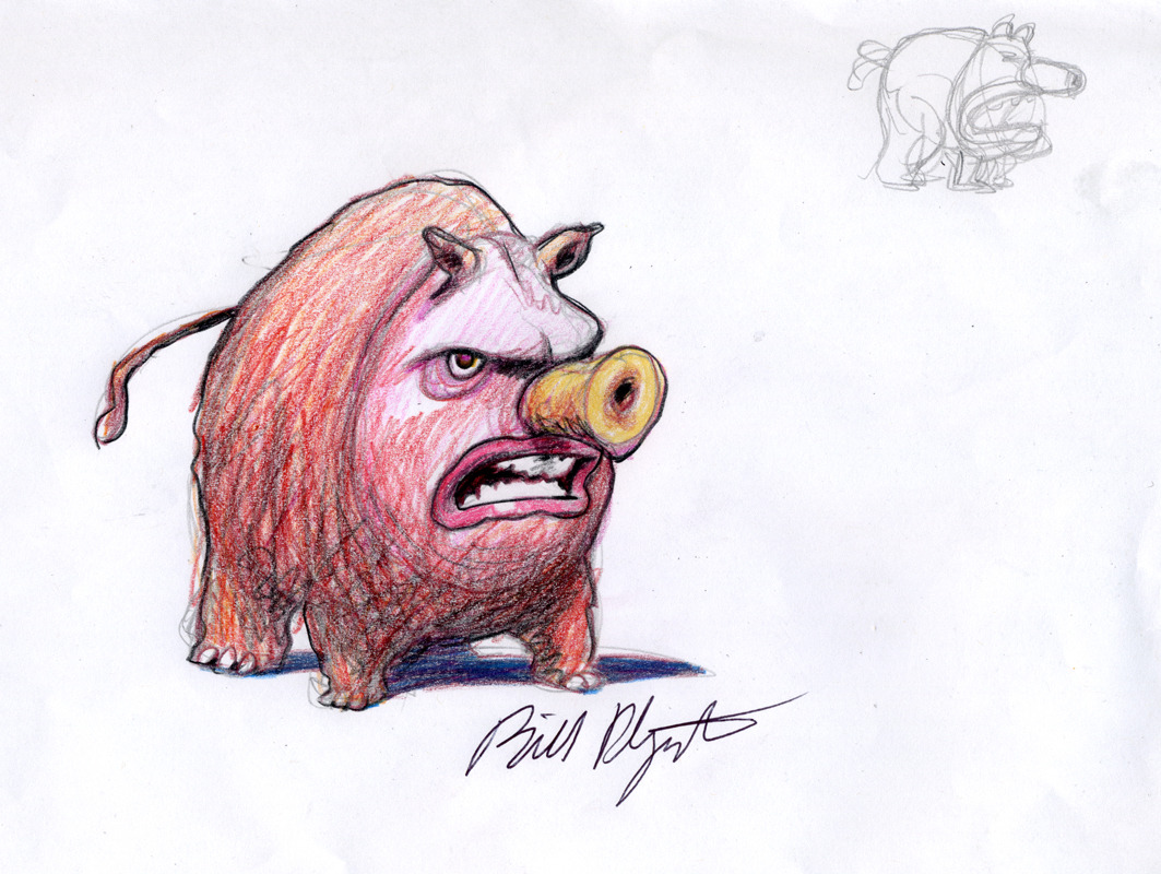 Frank Zweegers | Sound Creatures: Bill Plympton
